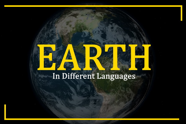 earth-in-different-languages