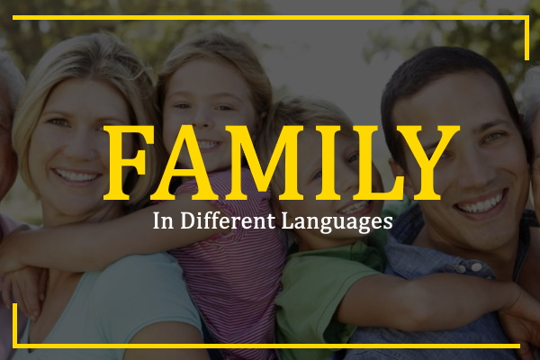 family-in-different-languages