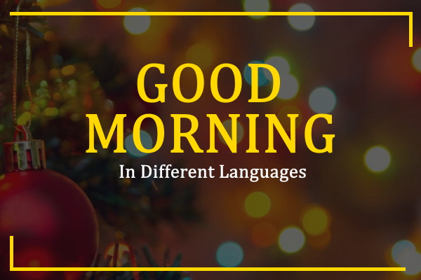 good-morning-in-different-languages
