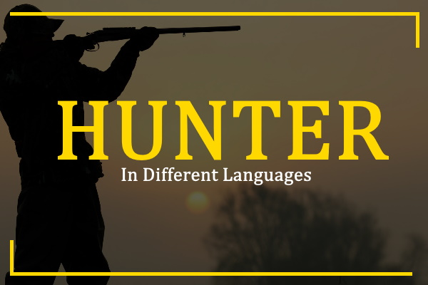 hunter-in-different-languages