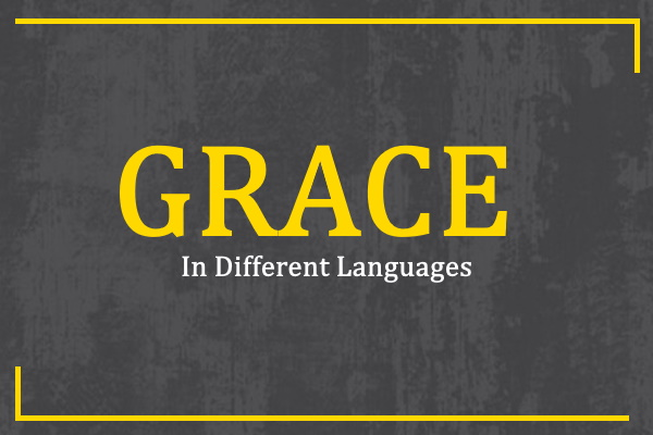 grace-in-different-languages