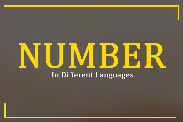 number-in-different-languages