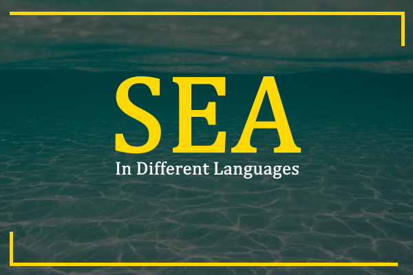 sea-in-different-languages