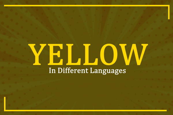 yellow-in-different-languages